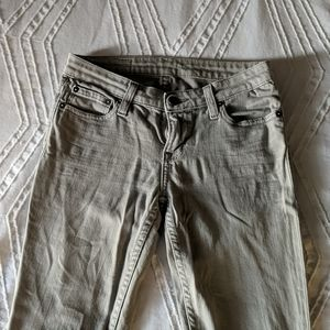 Grey Big Star 1974 Skinny Jeans